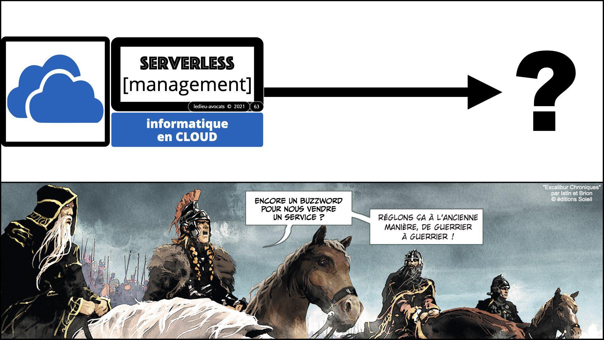 """service LOGICIEL SaaS et """"serverless"""" (management)"""