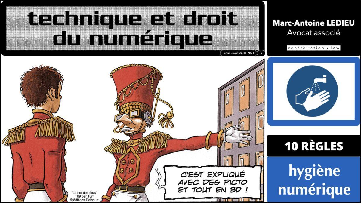 345 10 commandements hygiène numérique © Ledieu-Avocats technique droit numérique 07-09-2021.005