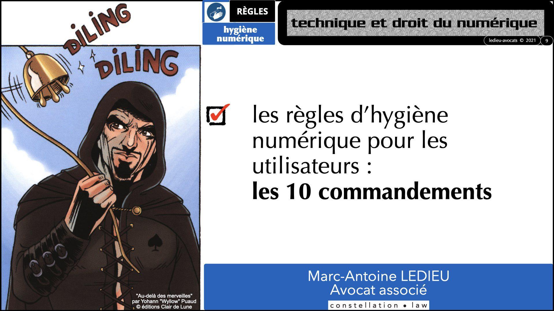 345 10 commandements hygiène numérique © Ledieu-Avocats technique droit numérique 07-09-2021.009