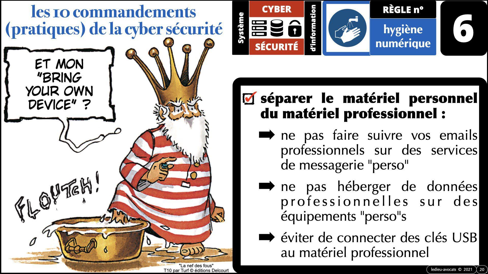 345 10 commandements hygiène numérique © Ledieu-Avocats technique droit numérique 07-09-2021.020