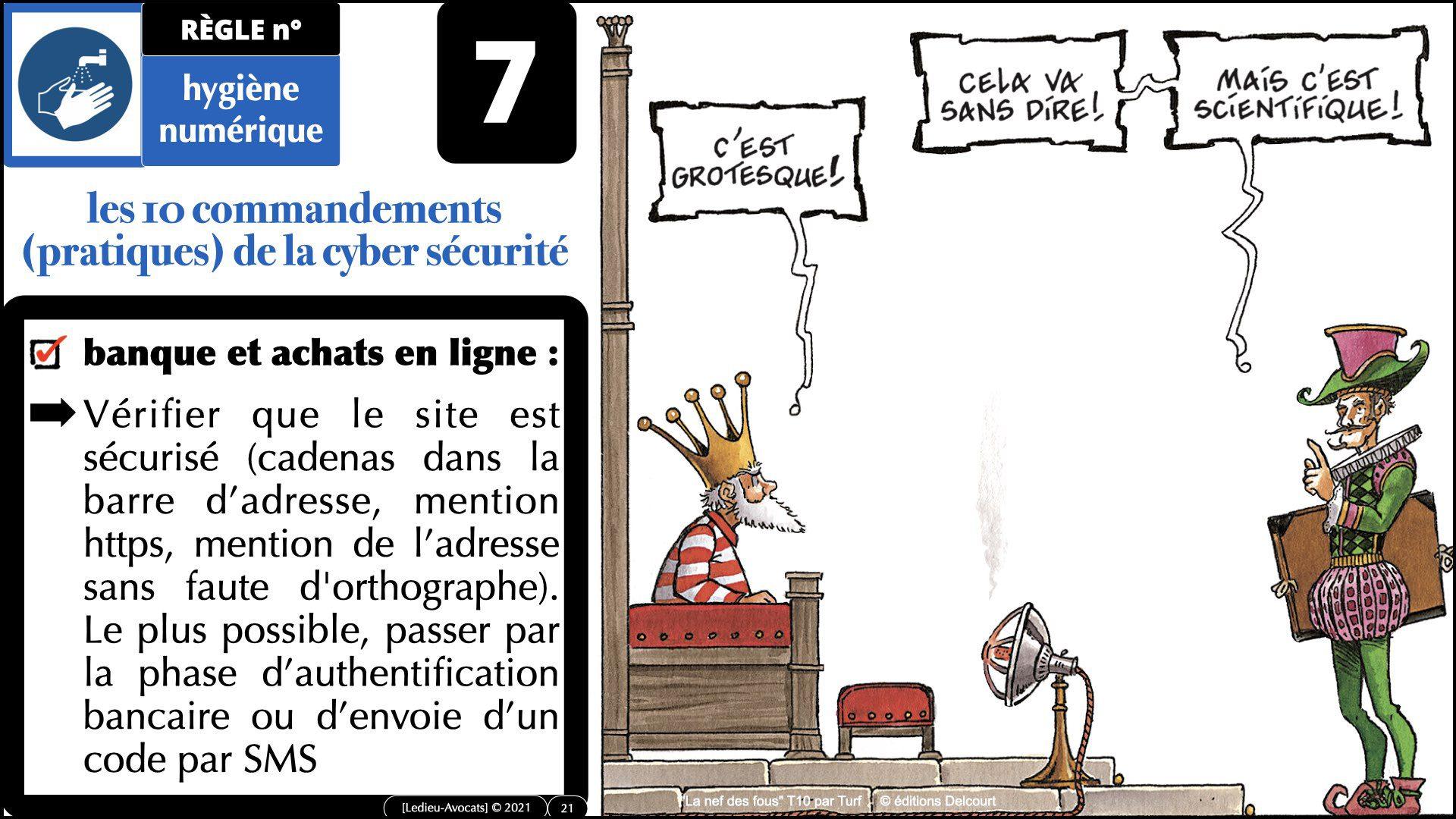 345 10 commandements hygiène numérique © Ledieu-Avocats technique droit numérique 07-09-2021.021