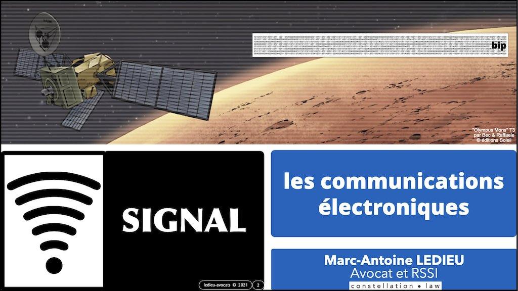349-02 #SIGNAL #COMMUNICATIONS ELECTRONIQUES © Ledieu-Avocats technique droit numerique.002