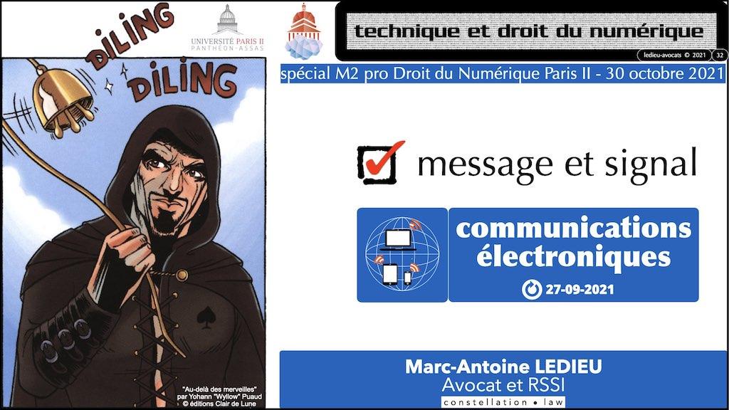 349-02 #SIGNAL #COMMUNICATIONS ELECTRONIQUES © Ledieu-Avocats technique droit numerique.032