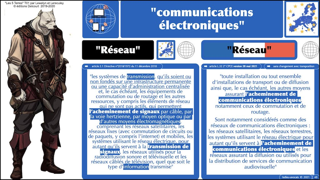 349-02 #SIGNAL #COMMUNICATIONS ELECTRONIQUES © Ledieu-Avocats technique droit numerique.049