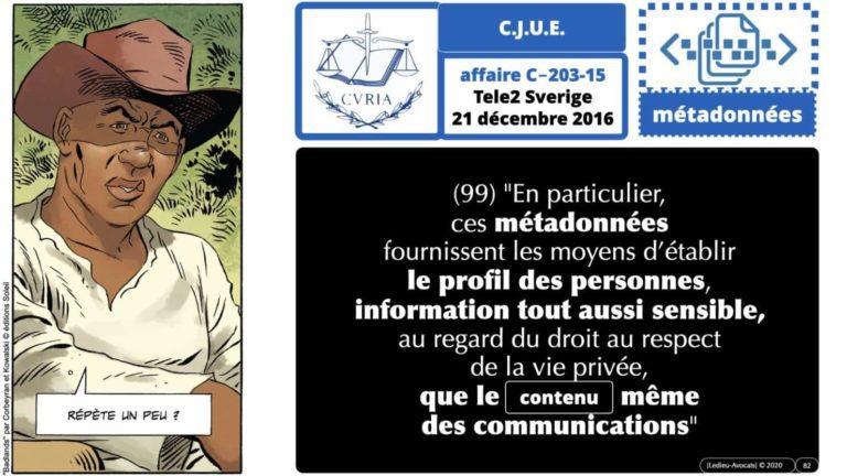 306 RGPD et juisprudence e-Privacy données-personnelles 16:9 ©Ledieu-Avocats 05-10-2020 formation Les Echos Lamy Conference.082