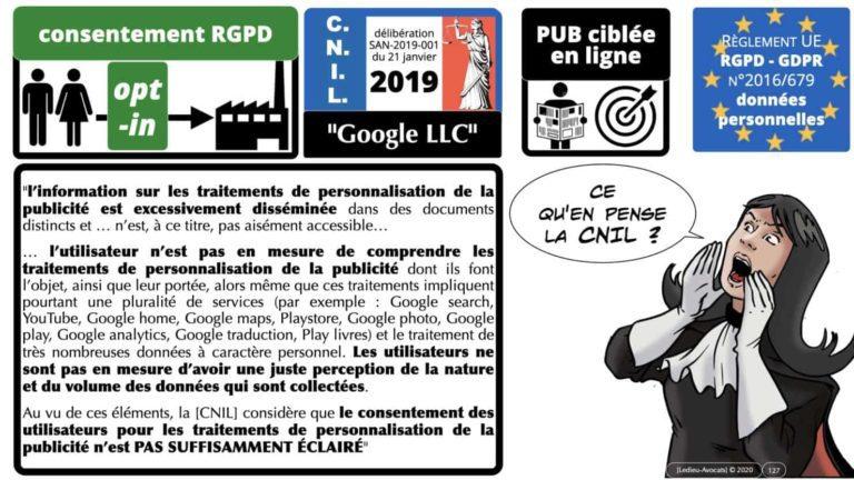 RGPD et jurisprudence Google