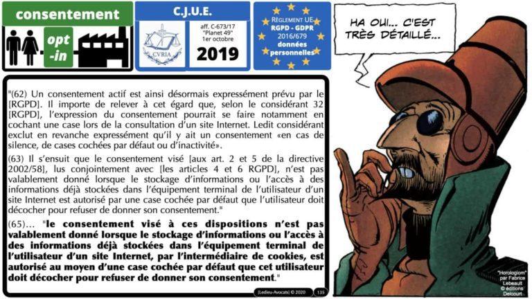 RGPD et jurisprudence CJUE 2019