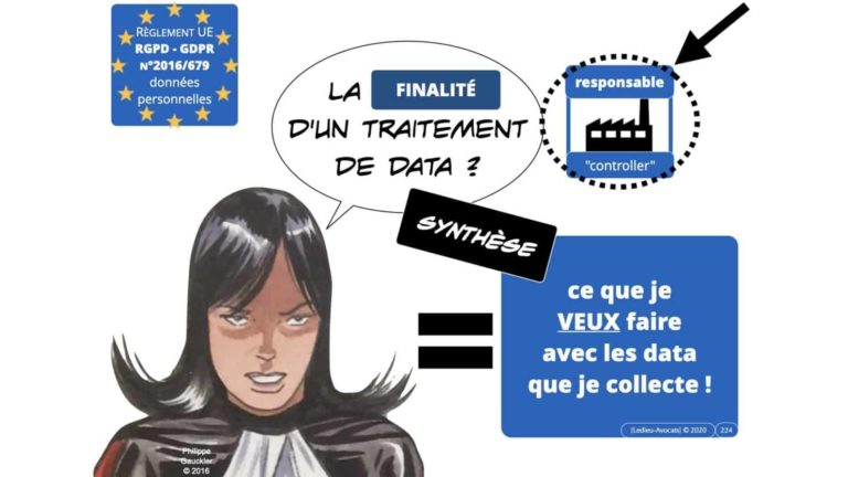 306 RGPD et jurisprudence e-Privacy données-personnelles 16:9 ©Ledieu-Avocats 05-10-2020 formation Les Echos Lamy Conference.224