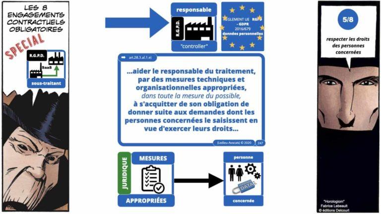 306 RGPD et jurisprudence e-Privacy données-personnelles 16:9 ©Ledieu-Avocats 05-10-2020 formation Les Echos Lamy Conference.247