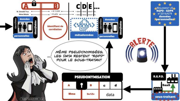 306 RGPD et jurisprudence e-Privacy données-personnelles 16:9 ©Ledieu-Avocats 05-10-2020 formation Les Echos Lamy Conference.267