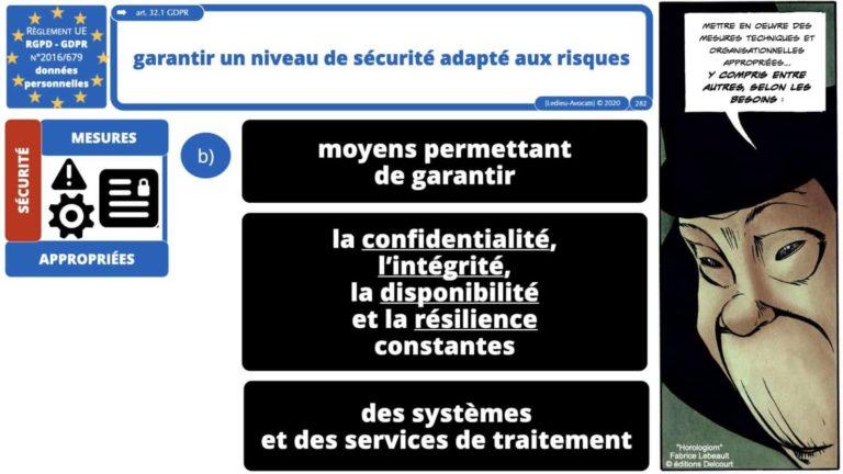 306 RGPD et jurisprudence e-Privacy données-personnelles 16:9 ©Ledieu-Avocats 05-10-2020 formation Les Echos Lamy Conference.282