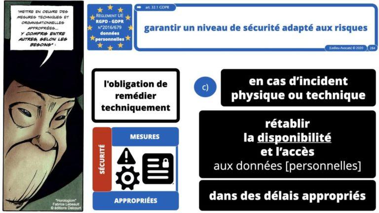 306 RGPD et jurisprudence e-Privacy données-personnelles 16:9 ©Ledieu-Avocats 05-10-2020 formation Les Echos Lamy Conference.284