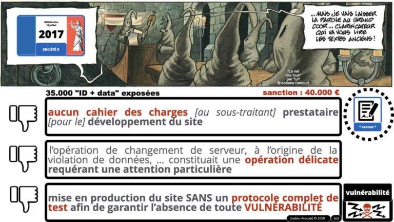 306 RGPD et jurisprudence e-Privacy données-personnelles 16:9 ©Ledieu-Avocats 05-10-2020 formation Les Echos Lamy Conference.303