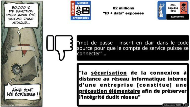 306 RGPD et jurisprudence e-Privacy données-personnelles 16:9 ©Ledieu-Avocats 05-10-2020 formation Les Echos Lamy Conference.310