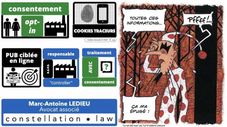 306 RGPD et jurisprudence e-Privacy données-personnelles 16:9 ©Ledieu-Avocats 05-10-2020 formation Les Echos Lamy Conference.338