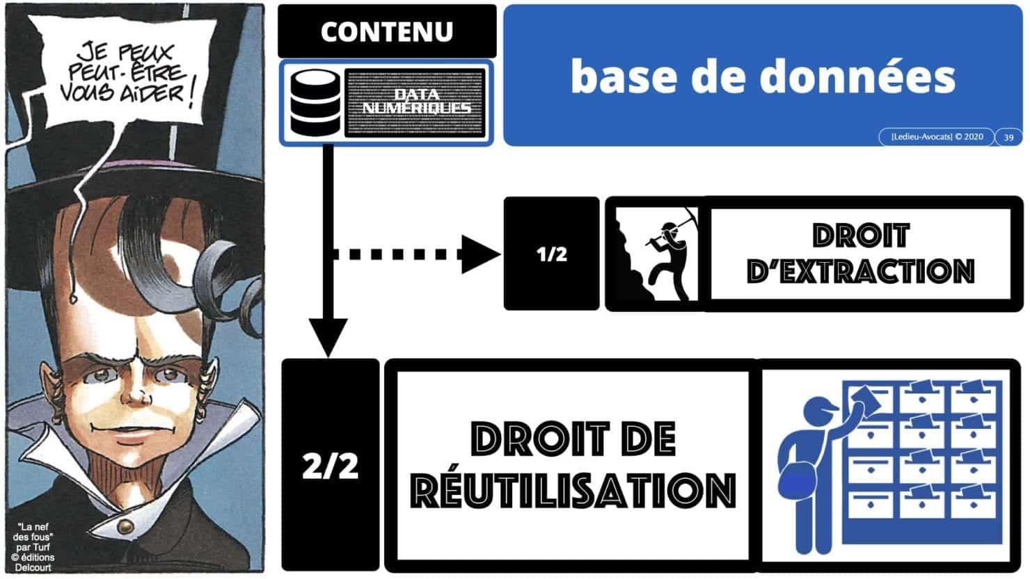 bases de données extraction réutilisation