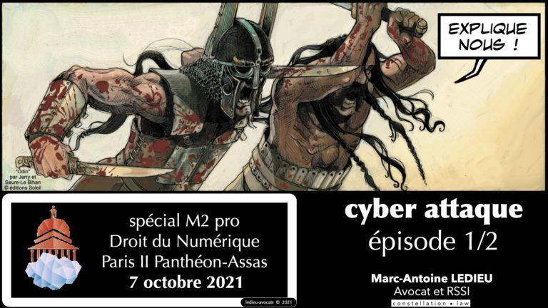 cyber sécurité cyber attaque #00-2 TITRE M2 PRO © Ledieu-Avocats technique droit numérique
