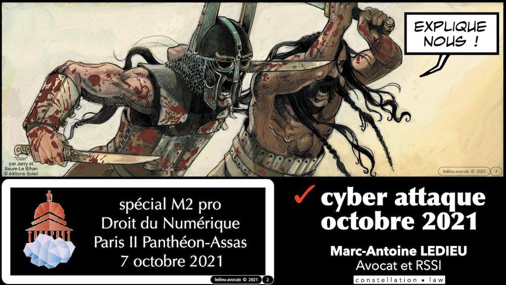 #350 cyber sécurité cyber attaque #00 plan M2 PRO © Ledieu-Avocats technique droit numérique 04-10-2021.002