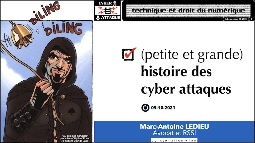 #350 cyber sécurité cyber attaque #02 CHRONOLOGIE 1945-2021 © Ledieu-Avocats technique droit numérique.007