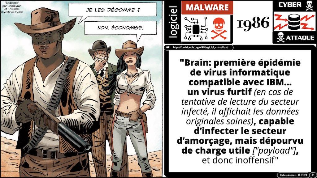 #350 cyber sécurité cyber attaque #02 CHRONOLOGIE 1945-2021 © Ledieu-Avocats technique droit numérique.021