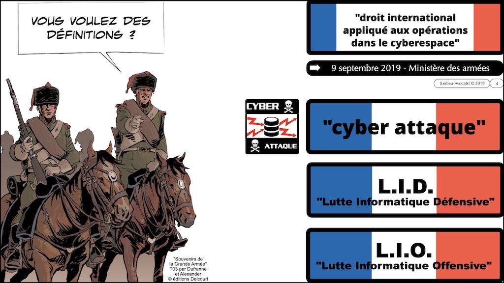 #350 cyber sécurité cyber attaque #11 DEFINITION civile et militaire + SYNTHESE © Ledieu-Avocats technique droit numérique.004