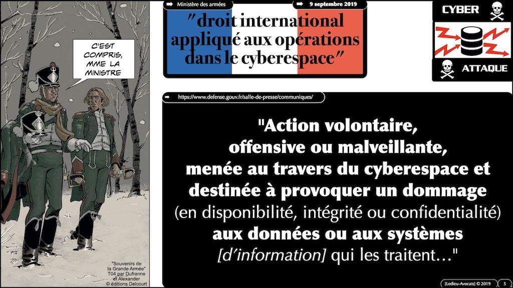 #350 cyber sécurité cyber attaque #11 DEFINITION civile et militaire + SYNTHESE © Ledieu-Avocats technique droit numérique