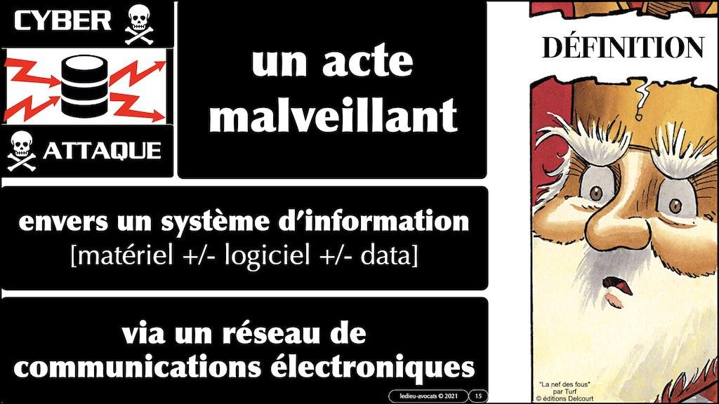 cyber attaque et cyber sécurité #11 DEFINITION civile et militaire + SYNTHESE © Ledieu-Avocats technique droit numérique