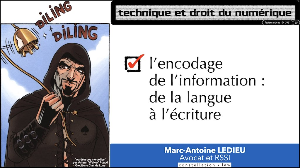 #353-01 #INFORMATION #MESSAGE #SIGNAL © Ledieu-Avocats technique droit numerique.035