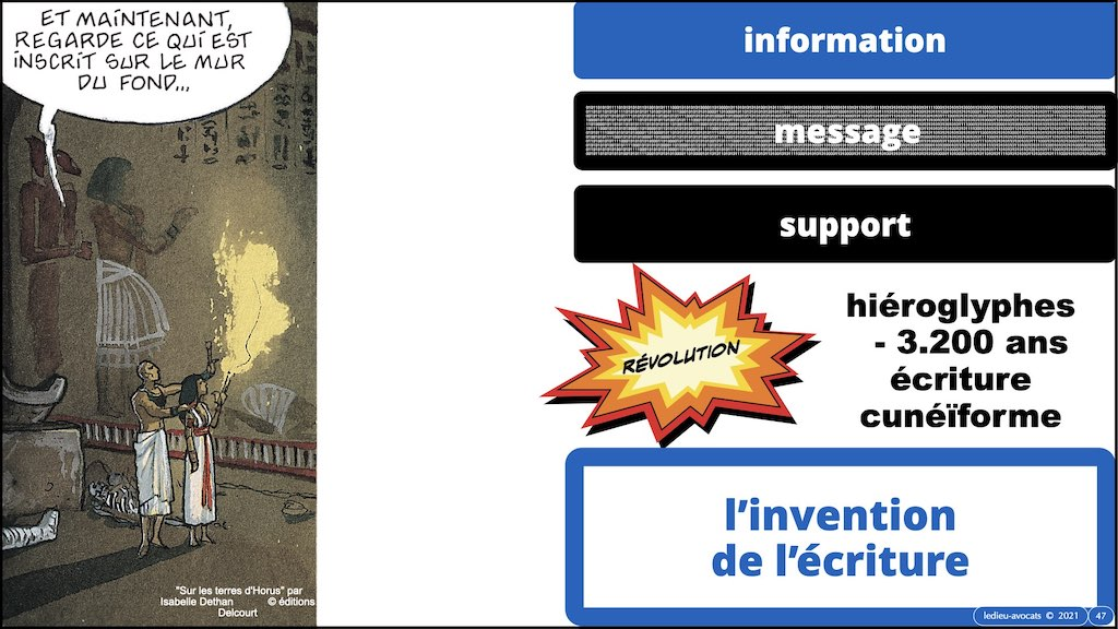 #353-01 #INFORMATION #MESSAGE #SIGNAL © Ledieu-Avocats technique droit numerique.047