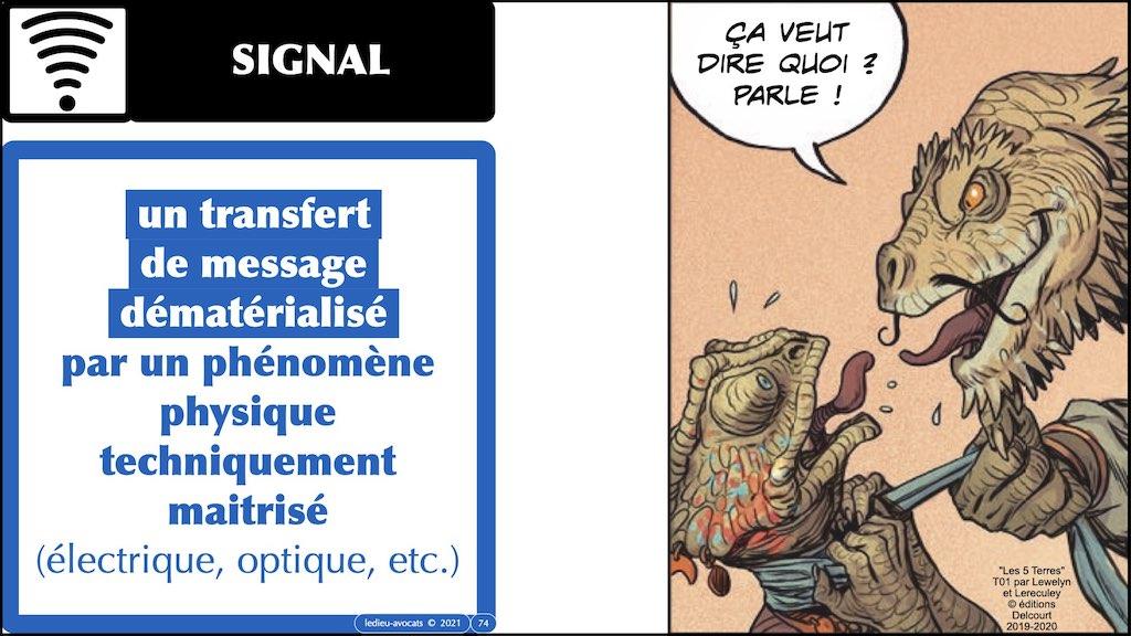 #353-01 #INFORMATION #MESSAGE #SIGNAL © Ledieu-Avocats technique droit numerique.074