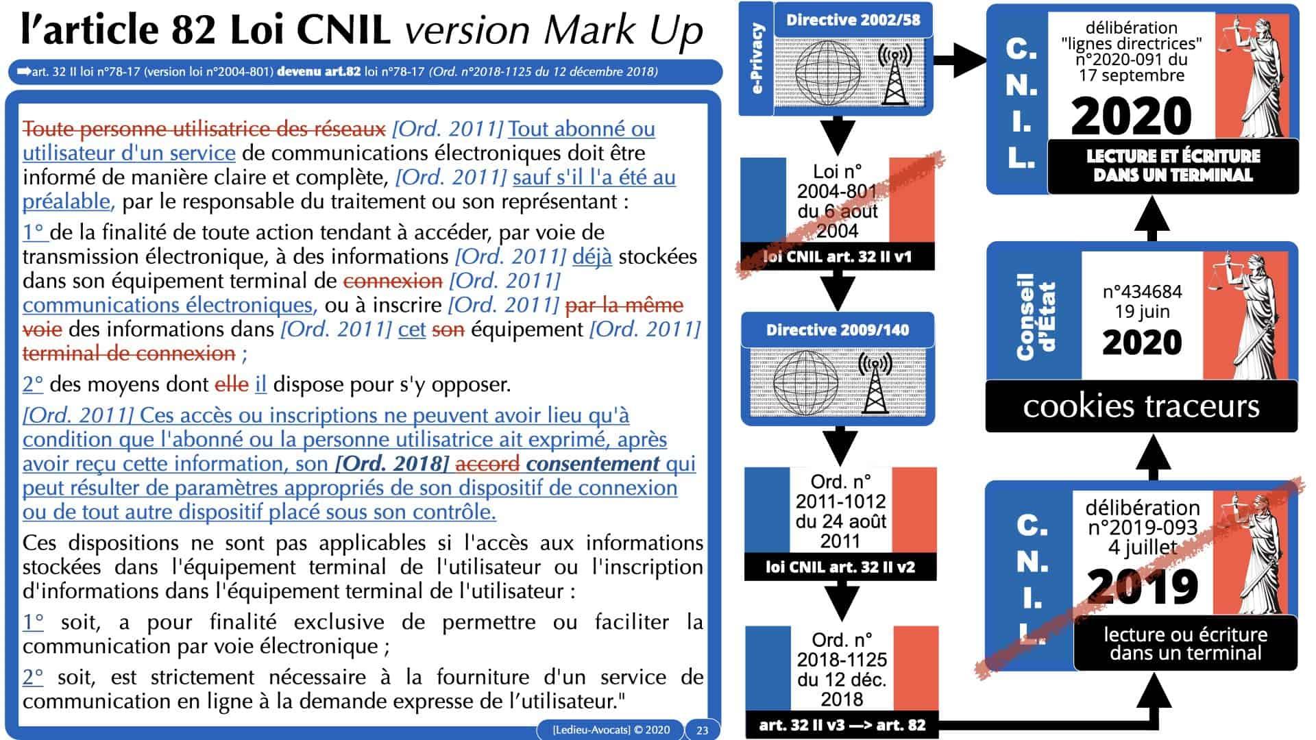 jurisprudence CNIL cookie traceur e-privacy RGPD ©Ledieu-Avocats 14-12-2020.023
