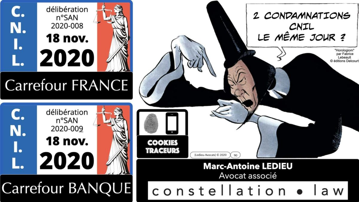jurisprudence CNIL cookie traceur e-privacy RGPD ©Ledieu-Avocats 14-12-2020.090