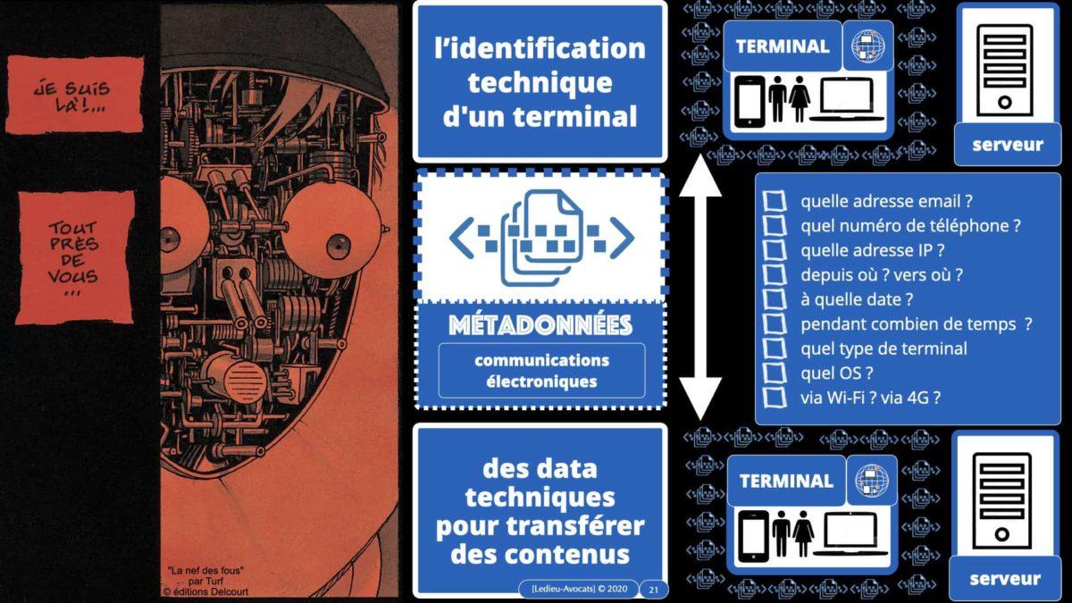 métadonnées données personnelles : la liste (infinie) des métadonnées