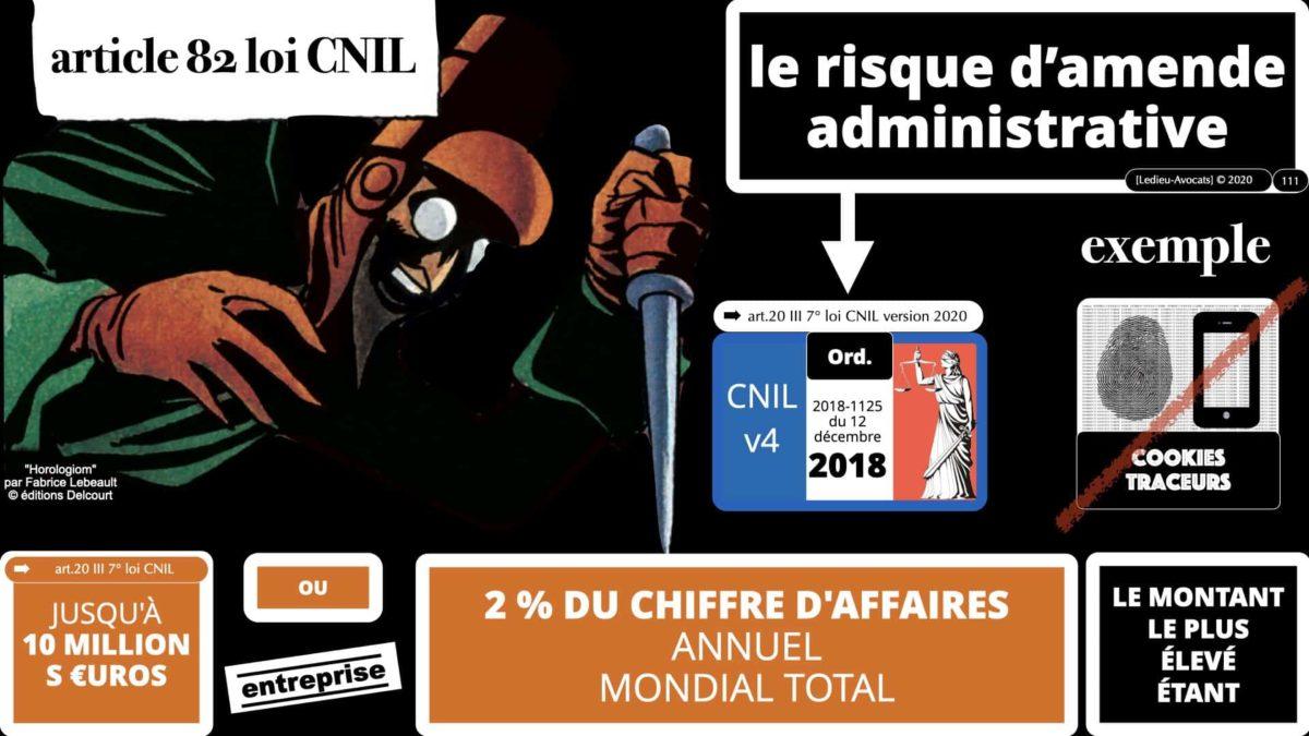 sanction COOKIES TRACEURS e-privacy RGPD ©Ledieu-Avocats 15-12-2020