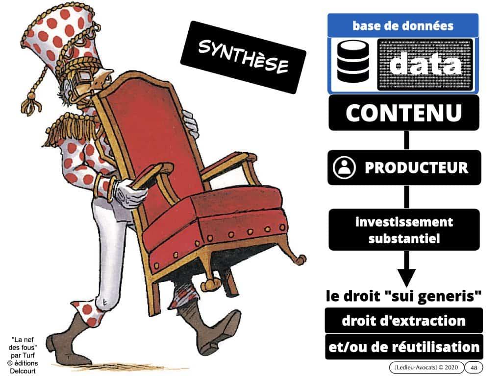 protection du contenu des bases de données