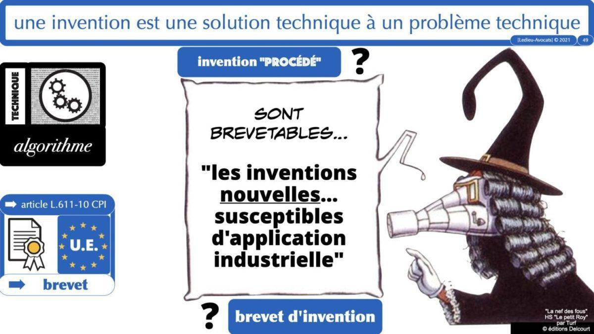 332 ALGORITHME PROTOCOLE protection innovation numérique ©Ledieu-Avocats 19-05-2021.049