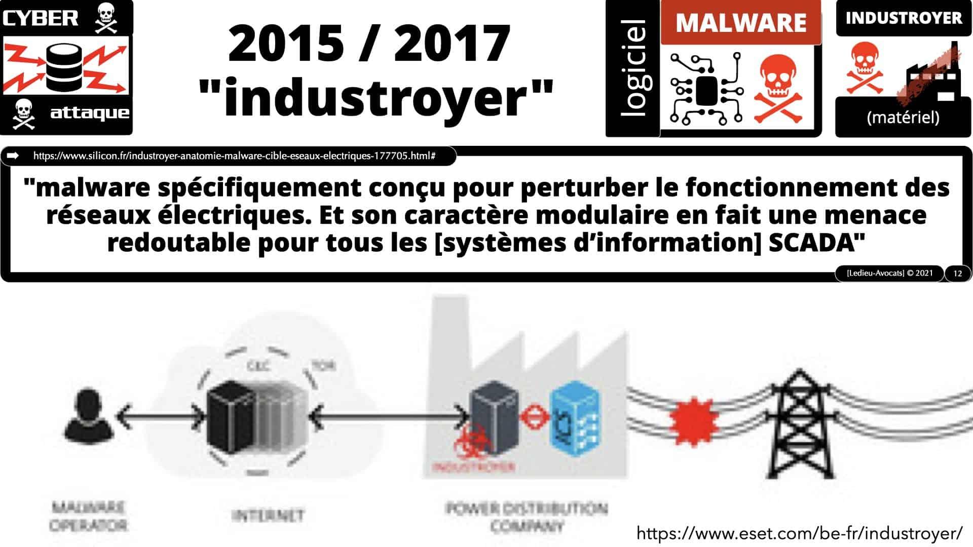 cyber attaques sur les systèmes industriels