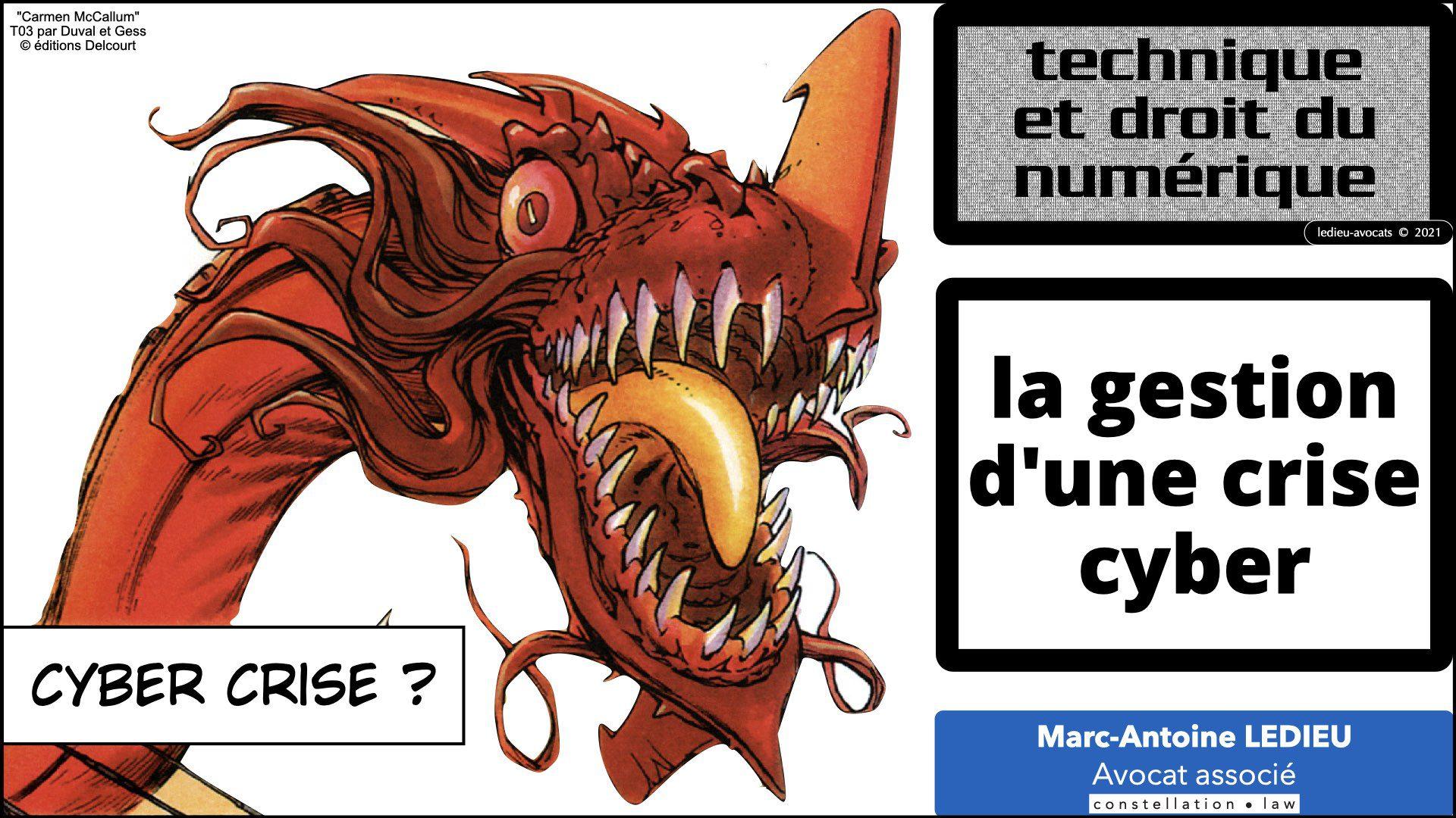 344 GESTION CRISE CYBER © Ledieu-Avocats technique droit numérique