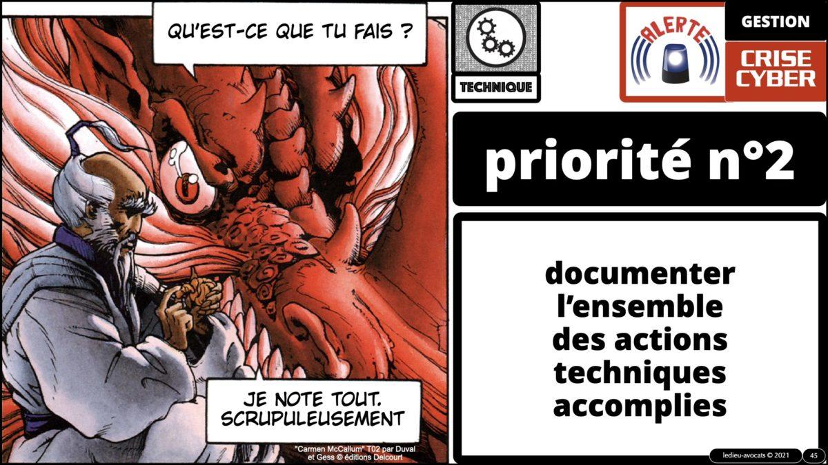 344 GESTION CRISE CYBER © Ledieu-Avocats technique droit numérique 07-09-2021.045