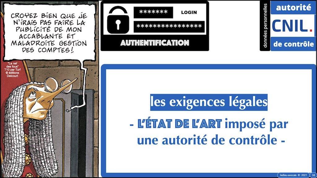 347 droit MOT PASSE authentification ANSSI + CNIL + jurisprudence 2018->2021 © Ledieu-Avocats technique droit numérique.038
