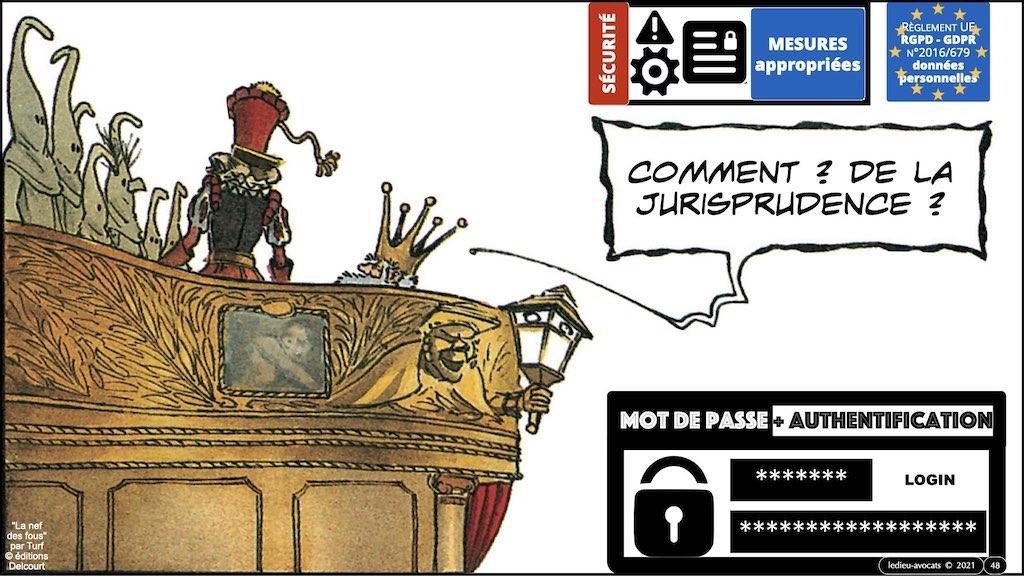 347 droit MOT PASSE authentification ANSSI + CNIL + jurisprudence 2018->2021 © Ledieu-Avocats technique droit numérique.048