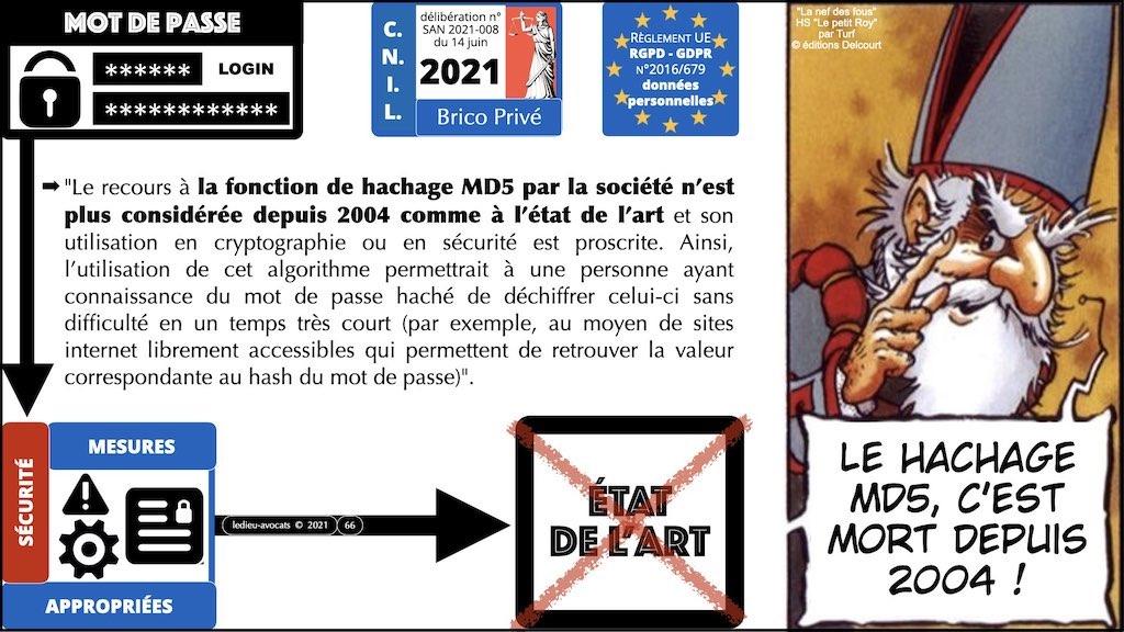 347 droit MOT PASSE authentification ANSSI + CNIL + jurisprudence 2018->2021 © Ledieu-Avocats technique droit numérique.066